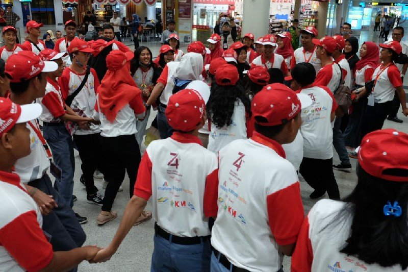 Penyandang disabilitas SMN Sumut terkesan melihat likuefaksi Petobo