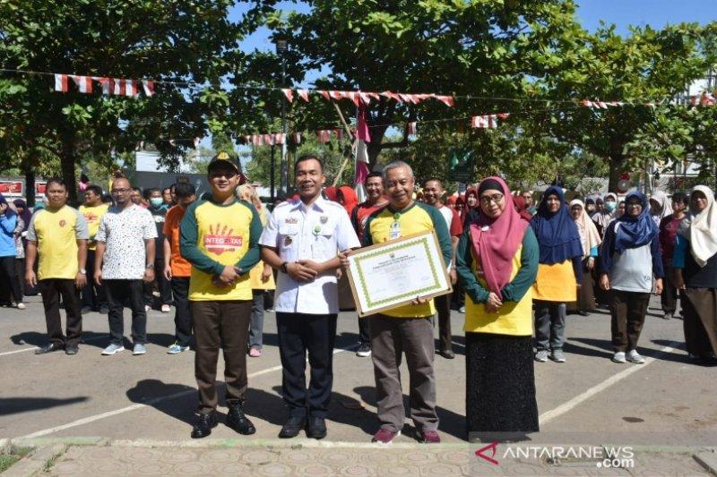 Bupati dan Direktur RSUD Batang tandatangani zona integritas WBK-WBBM