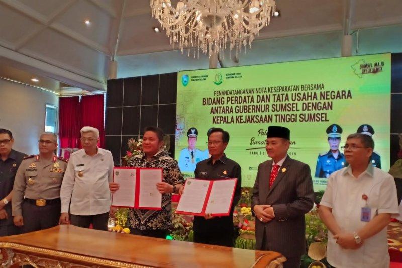 Pemprov Sumatera Selatan  bentuk satgas penyelamatan aset