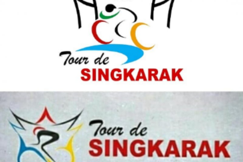 Tour de Singkarak 2019 use the new logo
