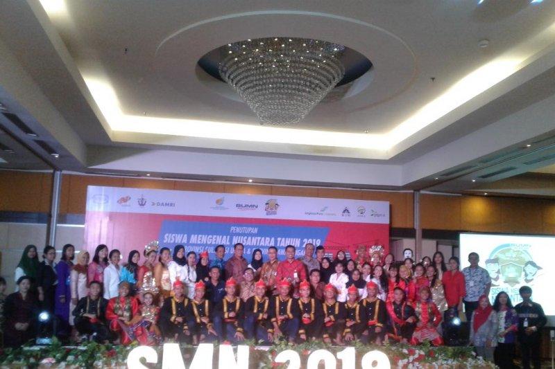 Penutupan Siswa Mengenal Nusantara di Manado berlangsung semarak