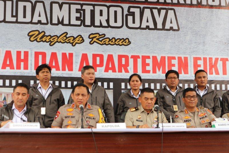 Polda Metro Jaya membongkar dua kasus mafia tanah