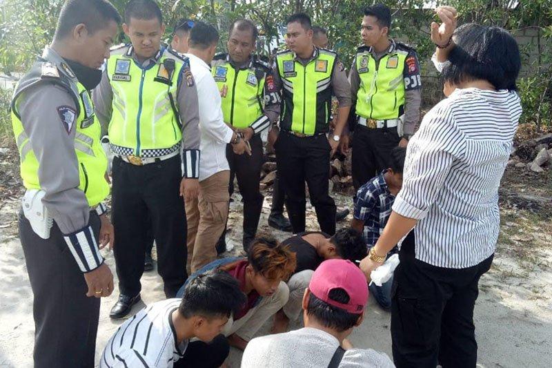 Aksi kejar-kejaran polisi warnai penangkapan pengedar narkoba di Palangka Raya