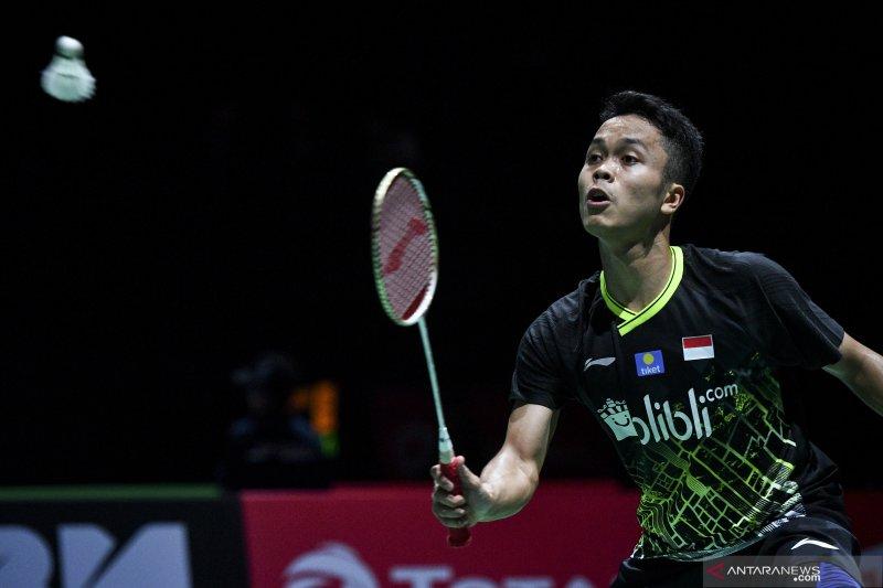 Anthony Ginting ke semi final China Open