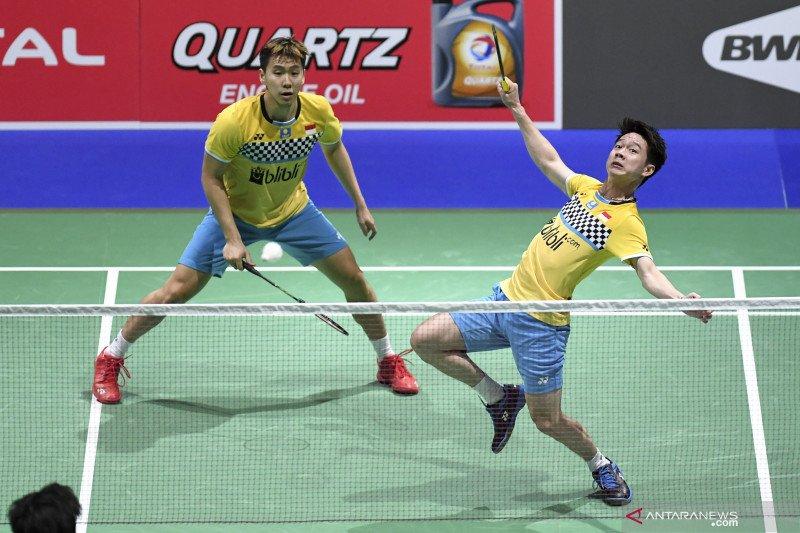 Persaingan ketat Marcus/Kevin dan Ahsan/Hendra menuju Olimpiade 2020