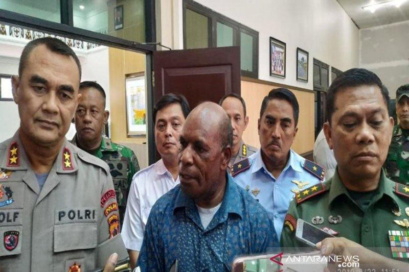 Kapolda Papua fasilitasi pertemuan terkait unjukrasa di sejumlah kota