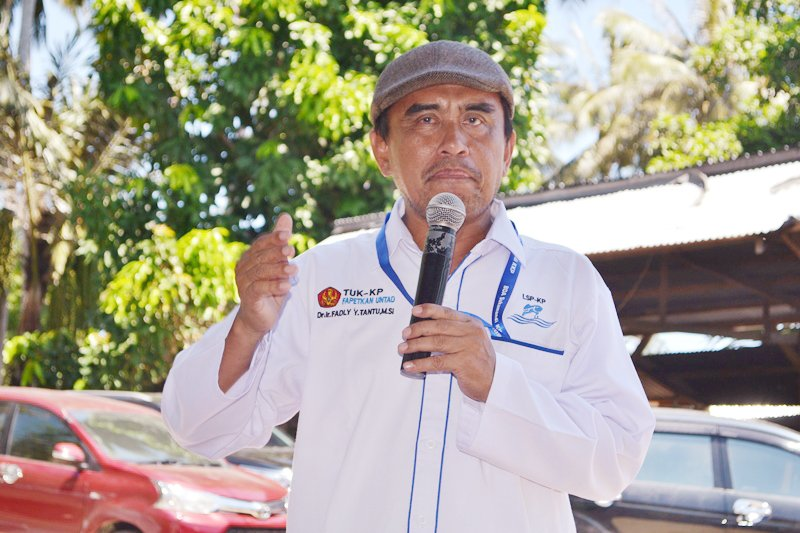 Puluhan petambak bandeng di Donggala ikut uji kompetensi keahlian