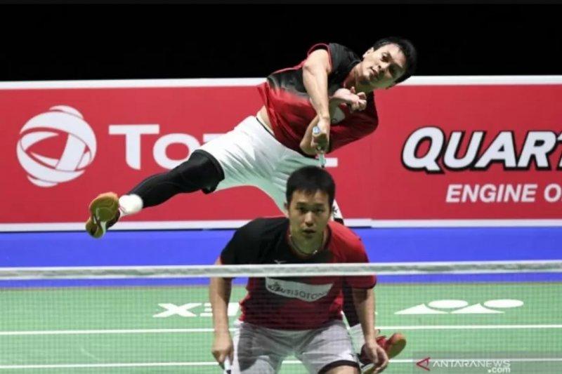 Harapan Indonesia pada ganda putra Ahsan/Hendra di Kejuaraan Dunia BWF