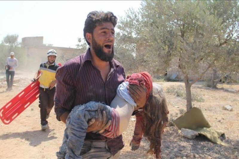Pemerintah Suriah temukan roket dan senjata ditinggalkan gerilyawan