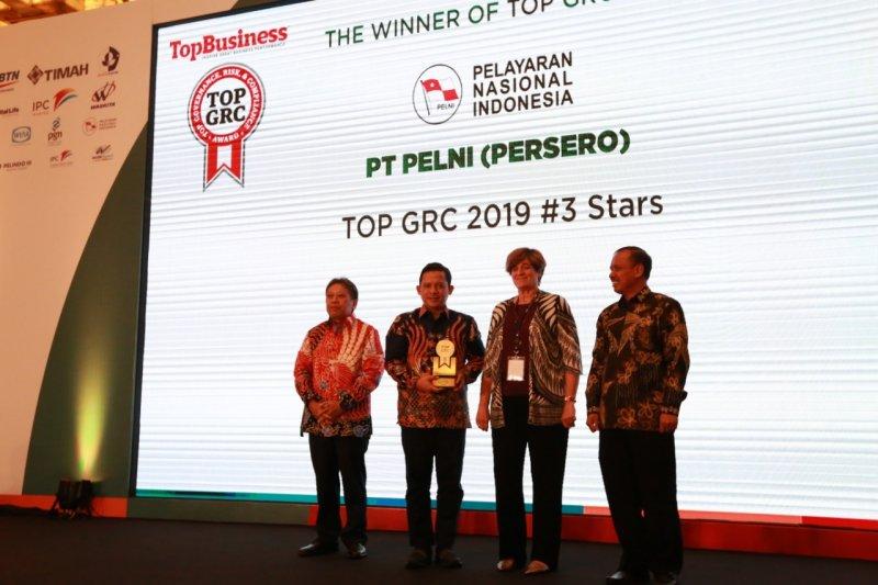 Pelni meraih Top GRC 2019