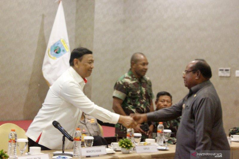 Menkopolhukam kunjungi Papua Barat