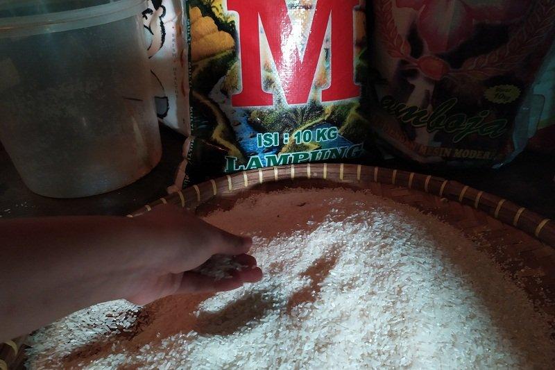 Harga beras di Bandarlampung naik akibat kemarau