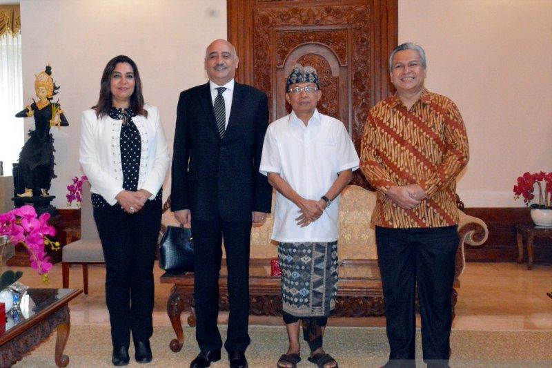 Dubes Mesir temui Gubernur Bali bahas kerja sama pariwisata