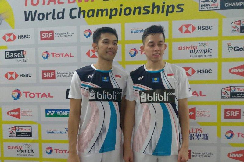 Fajar/Rian ke 16 besar di Kejuaraan Dunia