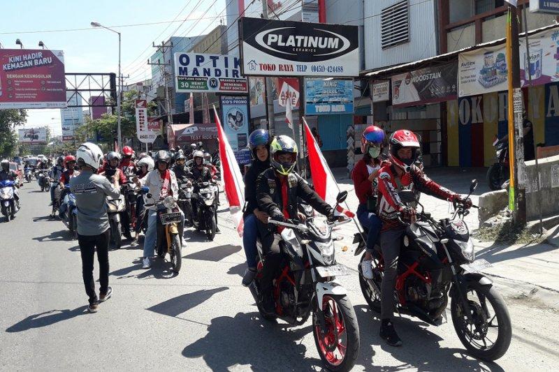 Honda gelar Convoy Merdeka bersama club & komunitas motor Honda