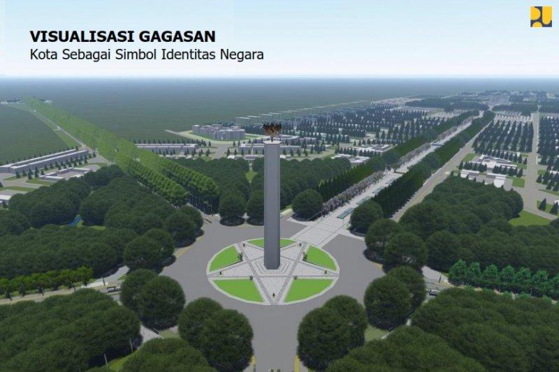 Ini disain Ibu kota negara baru di Kalimantan Timur