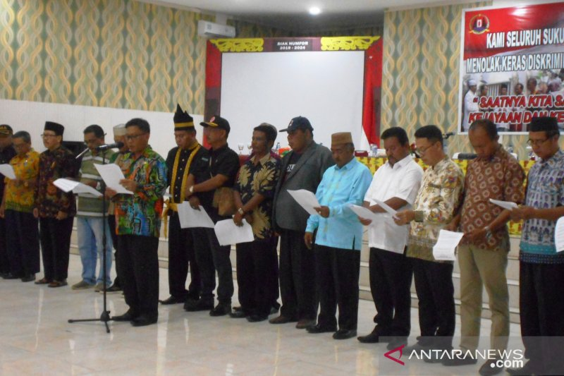 Community leaders in Biak Numfor reject racism against native Papuans