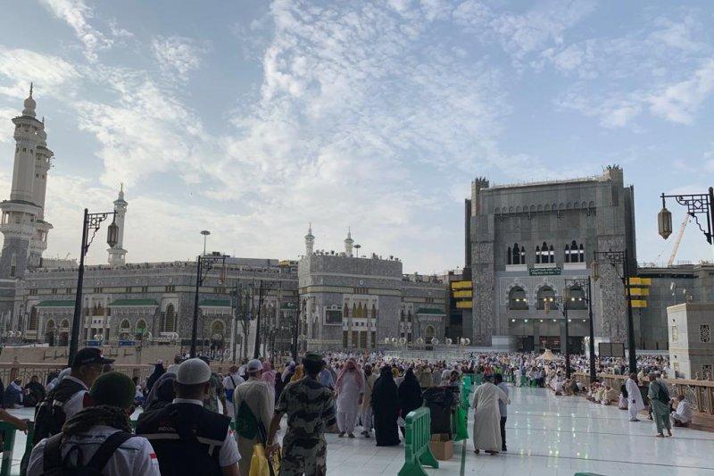 Kepadatan Masjidil Haram berkurang signifikan