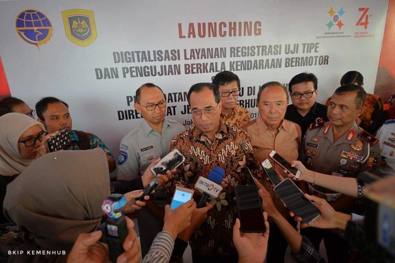 Kemenhub targetkan PNBP dari digitalisasi layanan Rp1 triliun