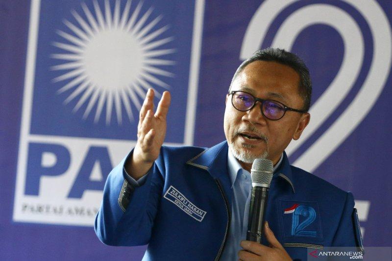 Periode kedua Zulkifli Hasan jadi pimpinan MPR RI