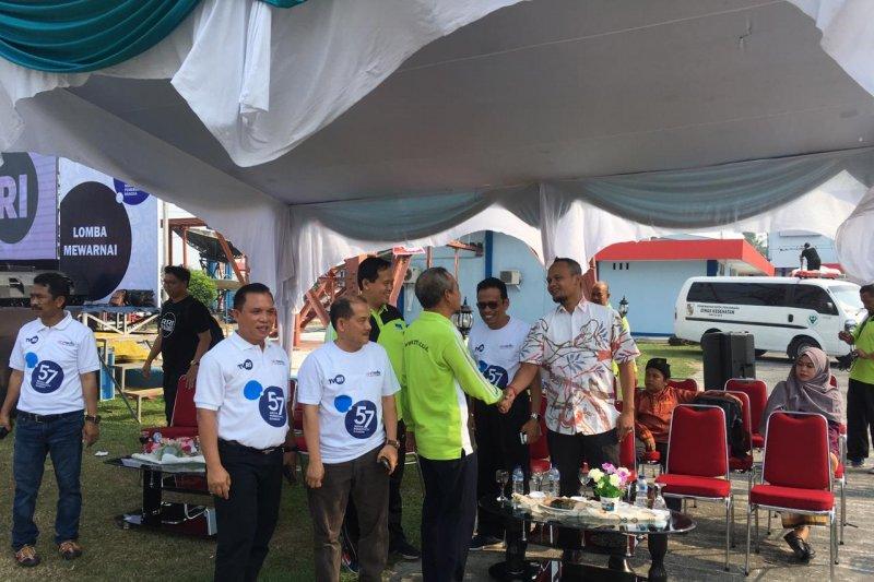 Tiga media milik negara berkumpul saat HUT TVRI di Riau