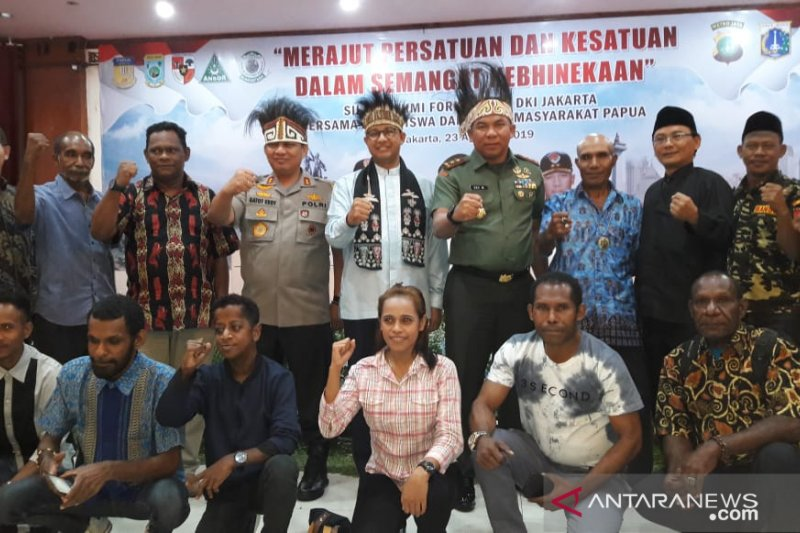 Anies apresiasi masyarakat Papua di Jakarta mampu jaga kondusifitas