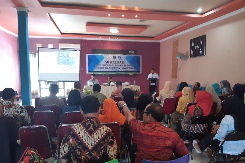 """13 sekolah """"pilot project""""  implementasi """"SiBos"""" di Luwu Timur"""