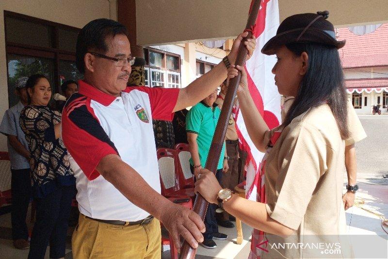 Ini target Pramuka Barito Timur ikut Perkemahan Wirakarya Kalteng