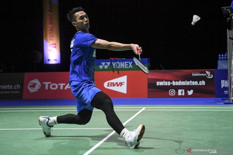 Jonatan terhenti di babak kedua Denmark Open
