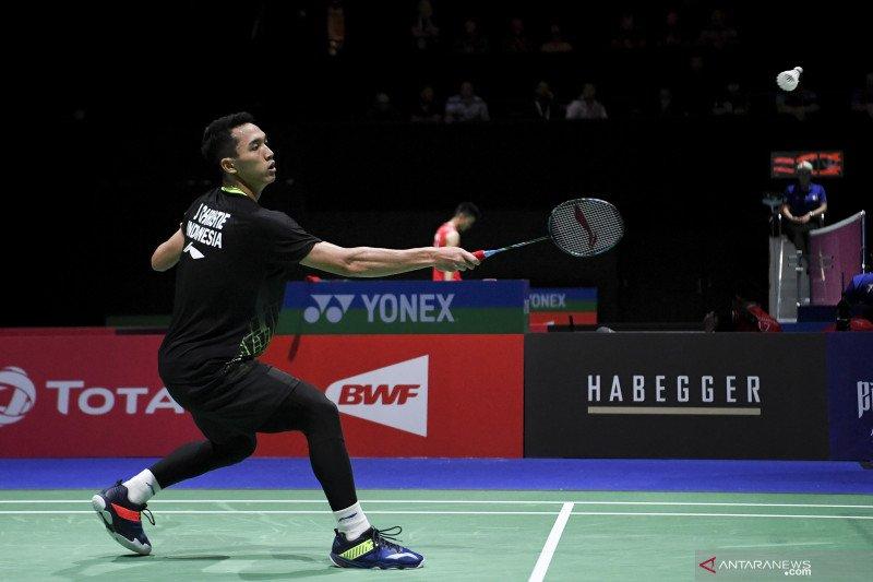 Singkirkan Vittinghus, Jonatan melaju ke babak kedua Korea Open
