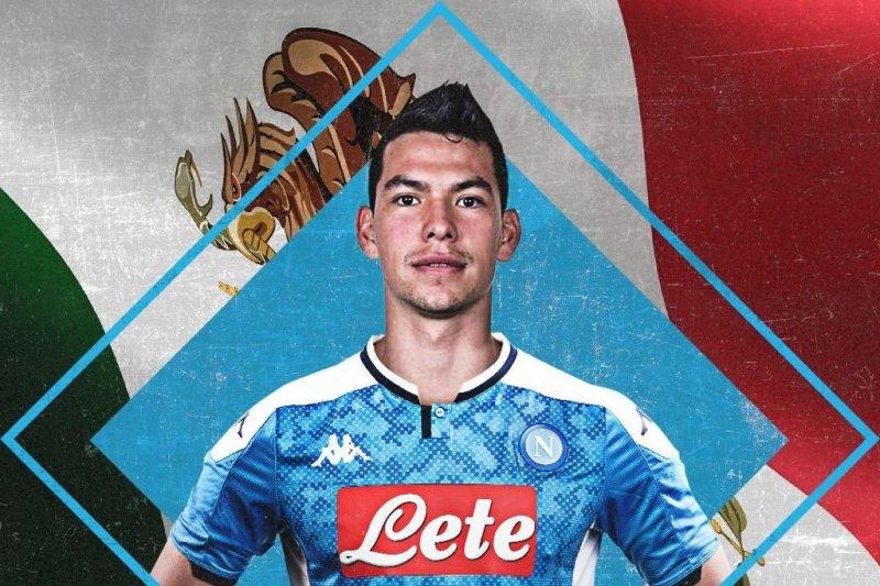 Napoli pecahkan rekor transfer untuk Hirving Lozano