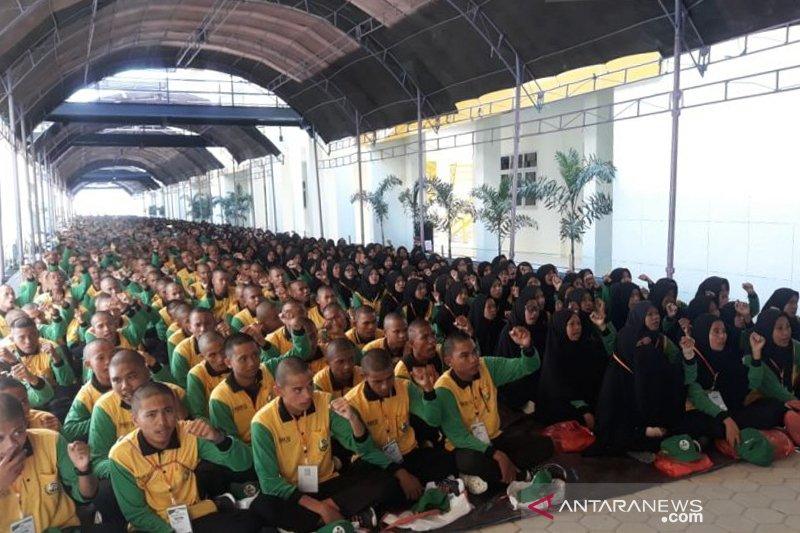 1.530 mahasiswa IAIN ikut pengenalan moderasi beragama lewat PBAK