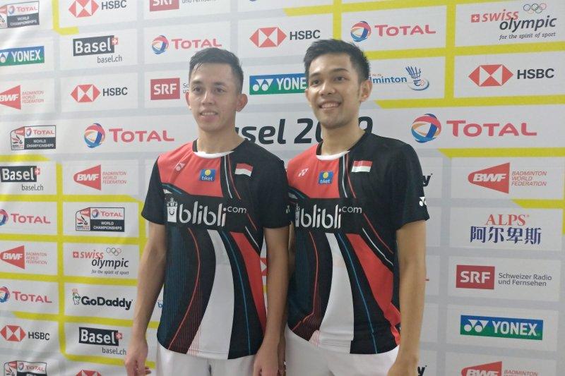 Kalahkan pasangan Malaysia Fajar/Rian susul Ahsan/Hendra ke perempat final