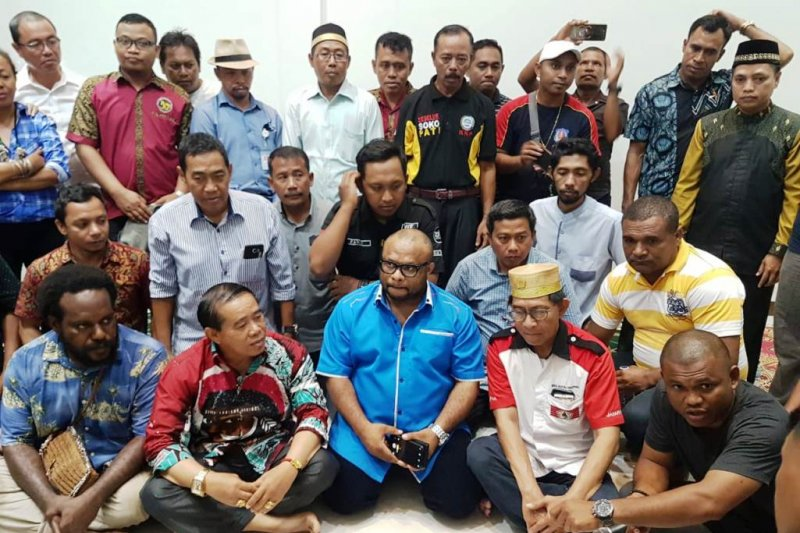 Paguyuban di Papua tolak sikap rasis