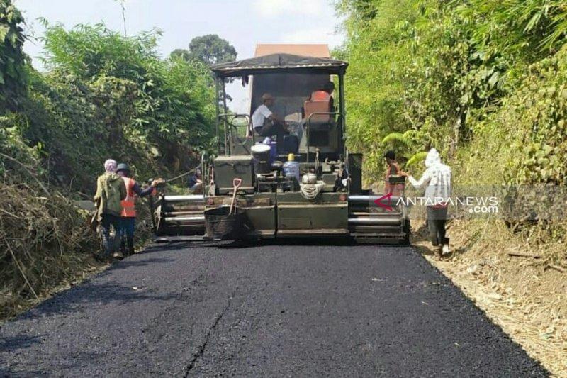Perbaikan jalan di Sumsel telah  mencapai 28 persen