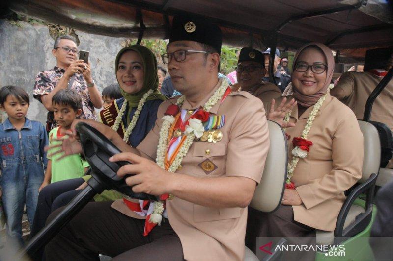 Ridwan Kamil dan Ade Yasin sepakat moratorium izin tambang di Bogor