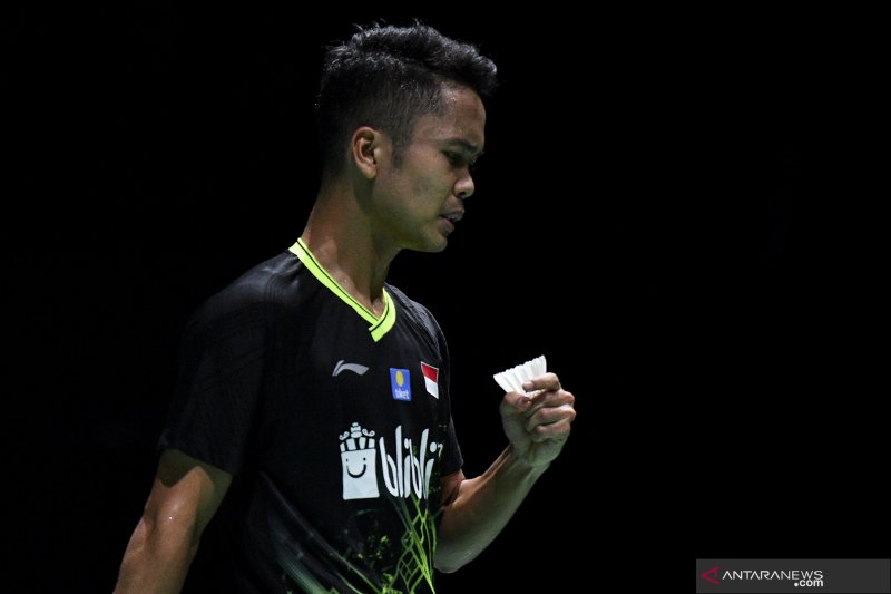 Anthony Ginting hadapi lagi pemain India di perempat final China Open