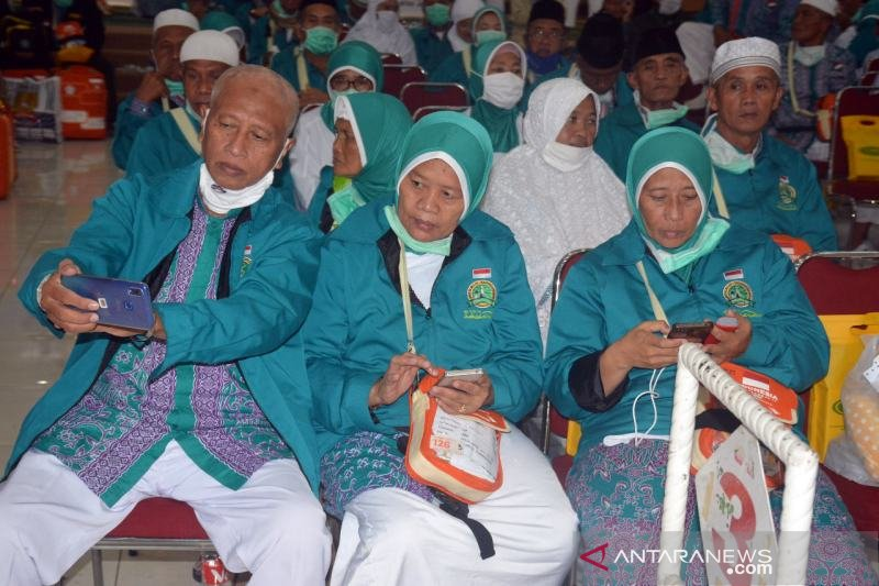 Jamaah haji Debarkasi Surakarta meninggal menjadi 43 orang