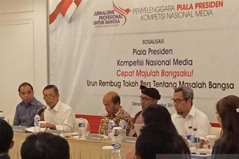 Masyarakat pers Bali dimintai saran jurnalistik melalui Piala Presiden