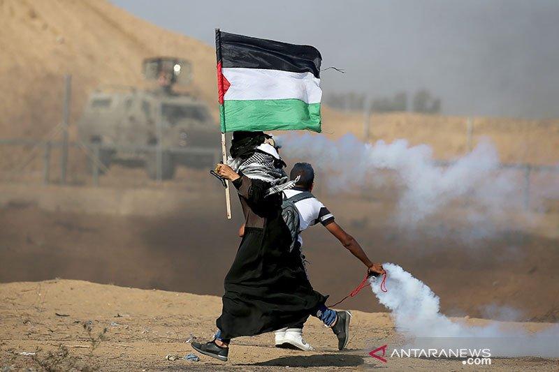 Tentara Israel melukai 75 orang Palestina dalam protes di Jalur Gaza