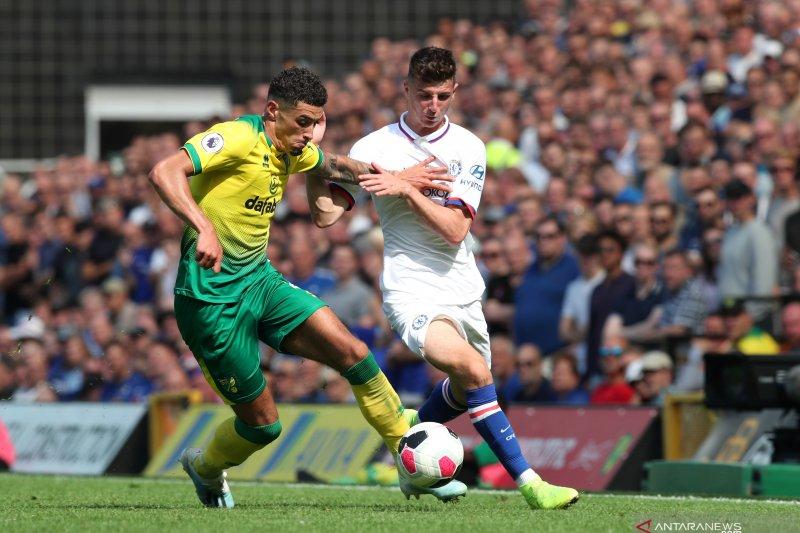 Chelsea meraih kemenangan perdana usai tundukkan Norwich 3-2