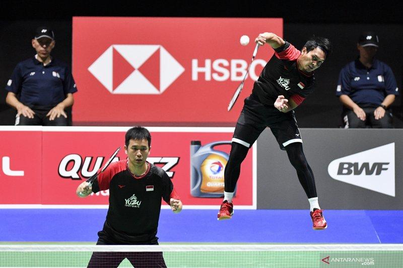 Hendra/Ahsan dan Wahyu/Ade ke babak kedua Denmark Open