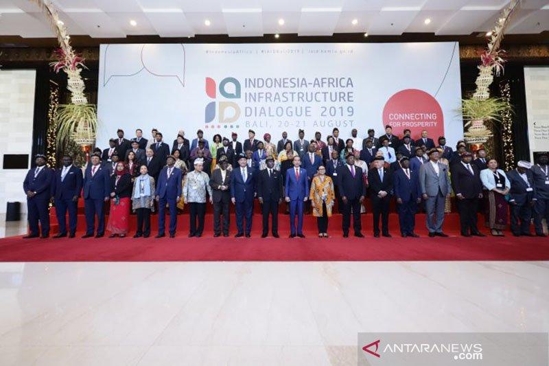 Dialog infrastruktur pembawa pesan persaudaraan Indonesia-Afrika