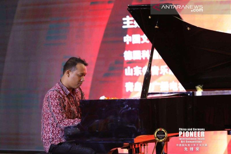 Pianis Indonesia juarai kompetisi internasional di China