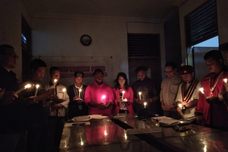 Mahasiswa Papua gelar aksi solidaritas
