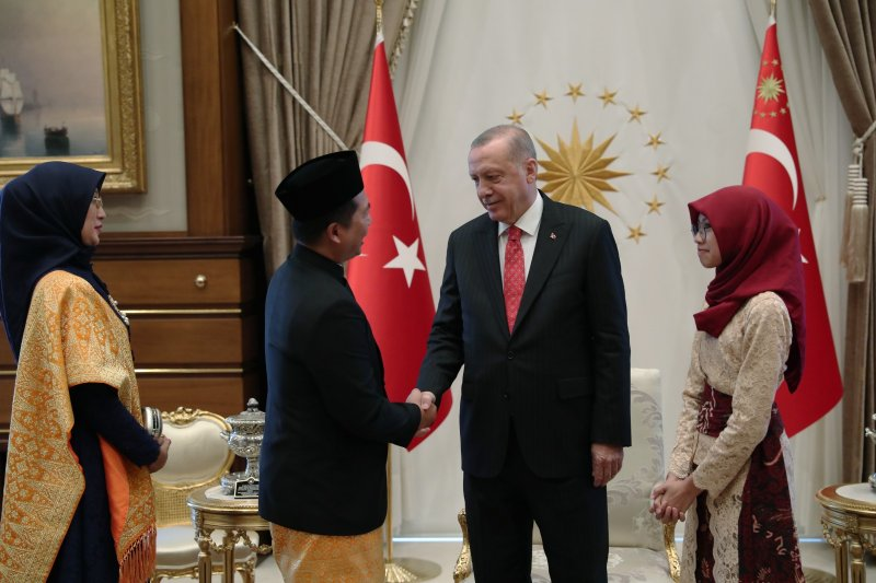 President Erdogan confirms a plan to visit Indonesia early 2020