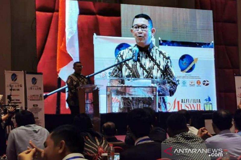 Ketua DPP ALFI  tekankan pentingnya membangun sinergi-konektivitas