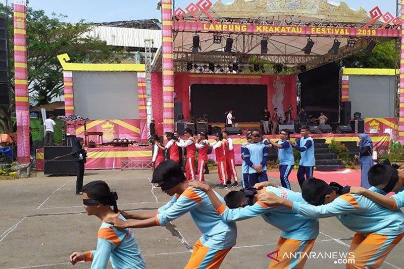 Pemprov Lampung gelar lomba tradisional di Festival Krakatau 2019