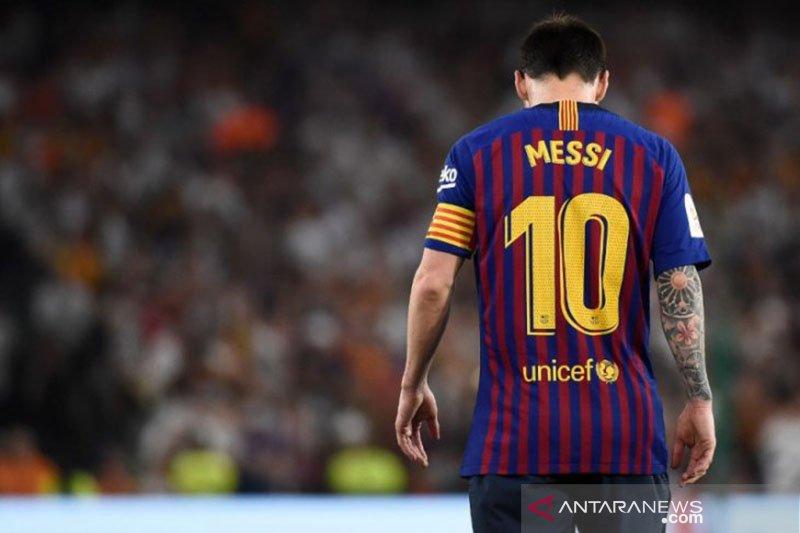 Lionel Messi masih berlatih terpisah jelang Barcelona hadapi Valencia