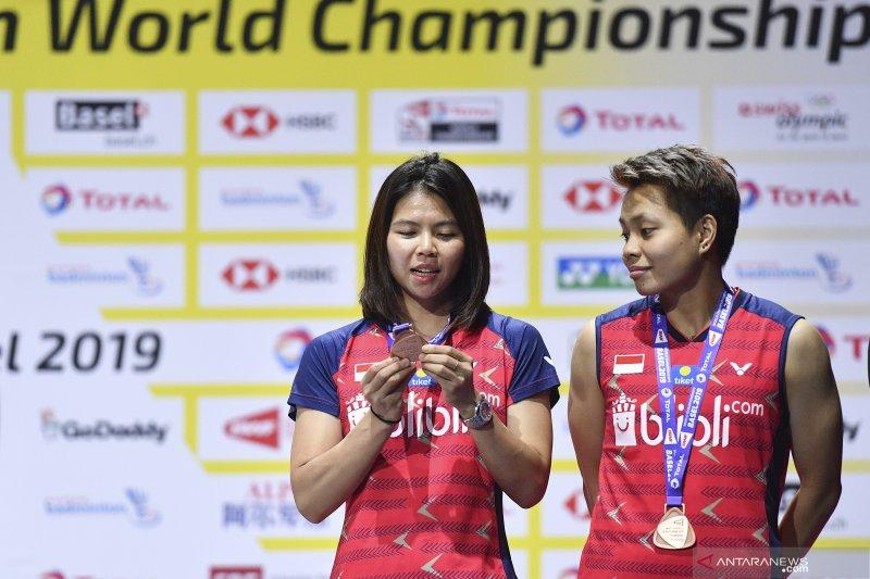Empat wakil Indonesia melaju ke semifinal Chinese Taipei Open